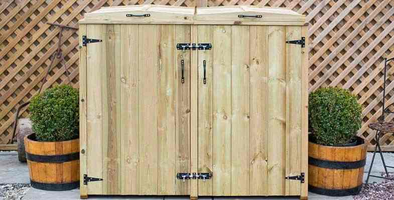 Why you should invest in a wheelie bin storage shed?