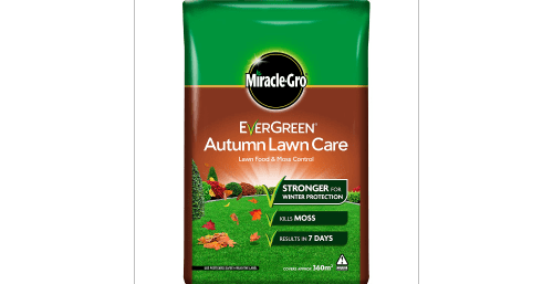 You can provide your grass with another type of food during the autumn which focuses on helping it grow at a slightly slower rate so that it's still green but not nearly as lush as it is in the springtime.