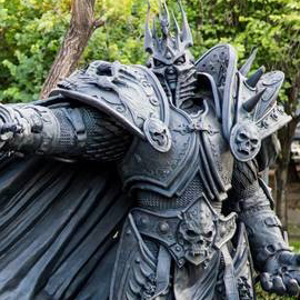 Arthas Statue