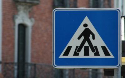 Tipos de multas por no respetar la prioridad de los pasos de peatones