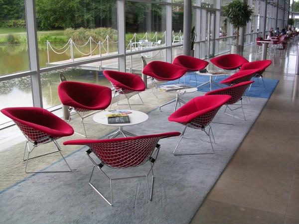 Bertoia Large Diamond Chair – PYRAMIDE DESIGN