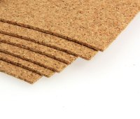 Cork Sheets - 305 x 305 x 1.6mm - Pyramidinnovation.com