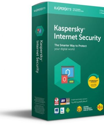 Softwares & Anti-virus Kaspersky internet security 3+1(kis 3+1) [tag]