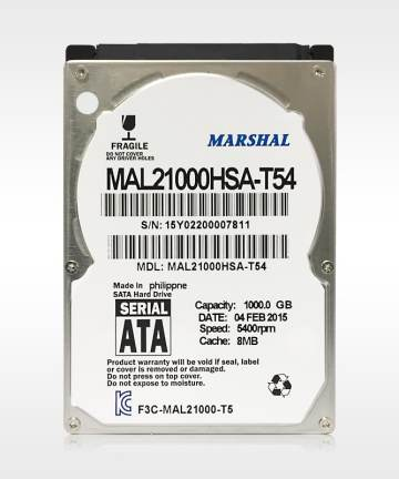 Computer Components Marshal harddisk 1tb for desktop
