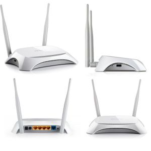 Internet & Networking TP-Link TL-MR3420 – Wireless N Router -300mbps – 3G/4G – White [tag]