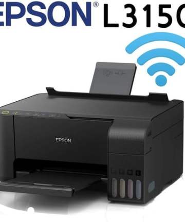 CISS printers Epson EcoTank L3150 WiFi All in One Ink Tank Printer