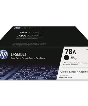 Printers & Accessories HP 78A (CE278D) Black Original LaserJet Toner Cartridges [tag]