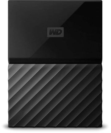 Computer Data Storage WD My Passport – 4TB – Portable External Hard Drive – USB 3.0 – WDBYFT0020BBK-WESN – Black [tag]