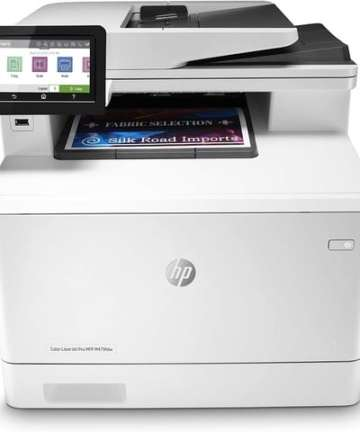 Computing HP Color LaserJet Pro Multifunction M479fdn Laser Printer
