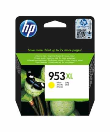 Printers & Accessories HP 953XL High Yield Yellow Original Ink Cartridge [tag]