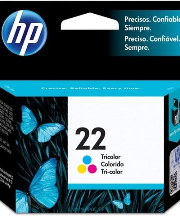 Printers & Accessories HP 22 Colour Original Ink Cartridge [tag]