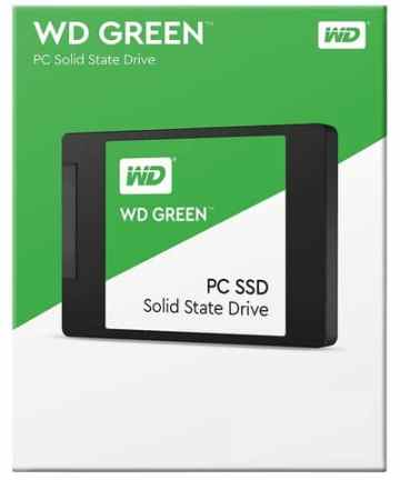 Computer Data Storage WD 120GB Green SATA III 2.5″ Internal SSD WDS120G1G0A [tag]