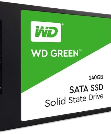 Computer Data Storage WD 240GB Green SATA III 2.5″ Internal SSD WDS120G1G0A [tag]