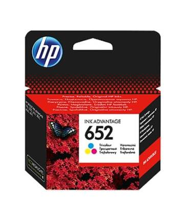 Printers & Accessories HP 652 Tri-color Original Ink Advantage Cartridge [tag]