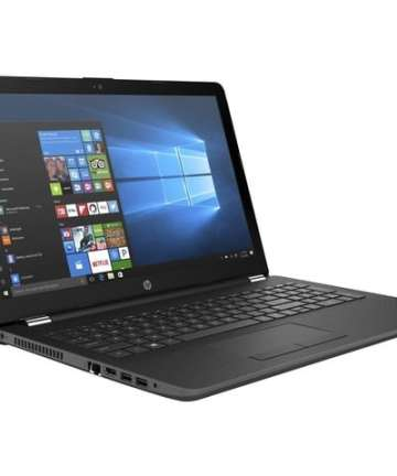 "Basic college laptops HP 15-BS152nia- Intel core i3- 4GB RAM – 1000GB HDD- Win 10-15.6"" – Black [tag]"
