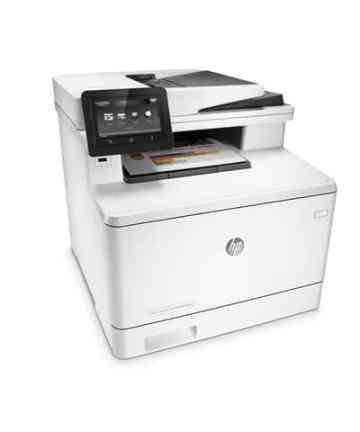 Computing HP LaserJet Pro MFP M477fnw Wireless Color Printer CF377A