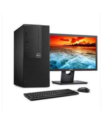 Complete Desktops Dell Optiplex 3050 Mini Tower Business Computer Intel Core i3-4GB RAM-500GB HDD-7700 3.4GHz, 18.5 Inch, Eng Keyboard, DOS, Black [tag]