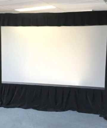 Electronics REAR 120″ x 160″ PROJECTION SCREEN FOR HIRE [tag]