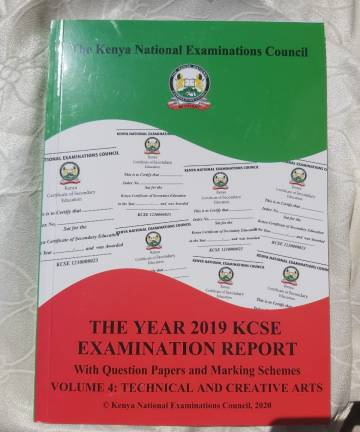 2019 KNEC Reports Technical and Creative Arts with Reports / Questions / Marking Schemes 2019 KCSE