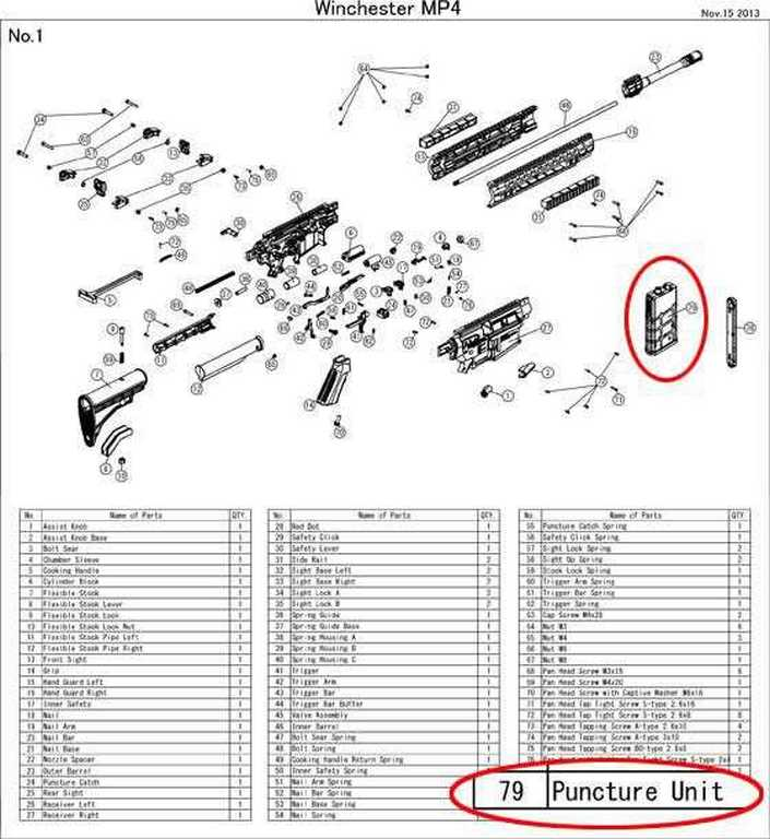 daisy 1894 parts diagram red arc isolator wiring winchester mp4 co2 rifle: part 3 | air gun blog - pyramyd report