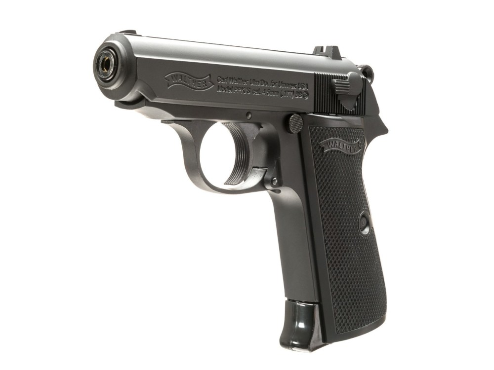 medium resolution of walther ppk s black bb gun