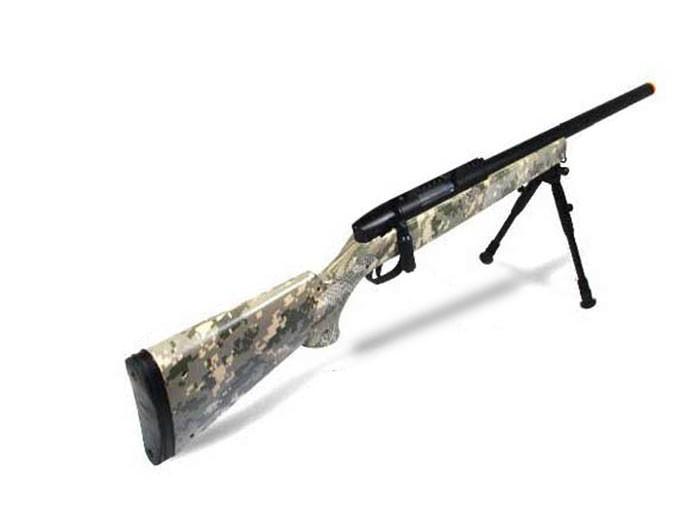UTG Master Sniper Airsoft Rifle, Army Digital. Airsoft gun