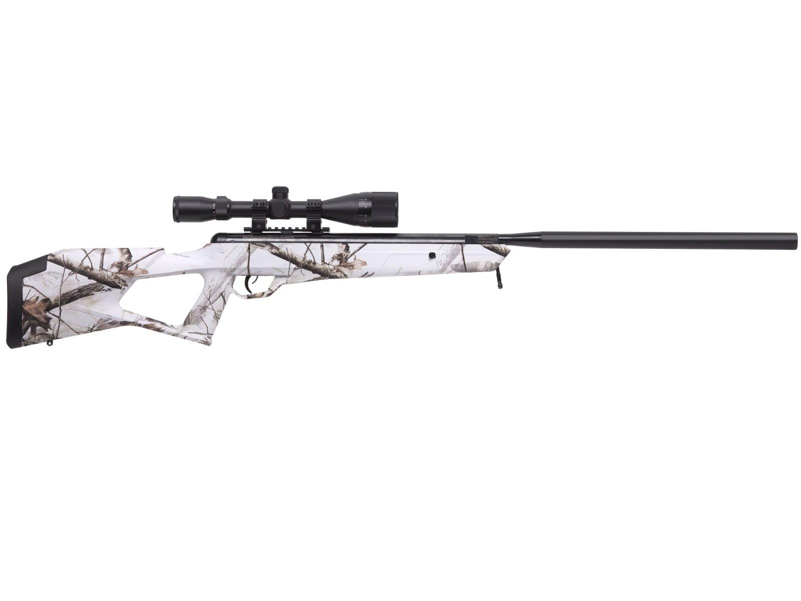 Benjamin Trail NP2 Rifle, Snow Camo, Combo. Air rifles