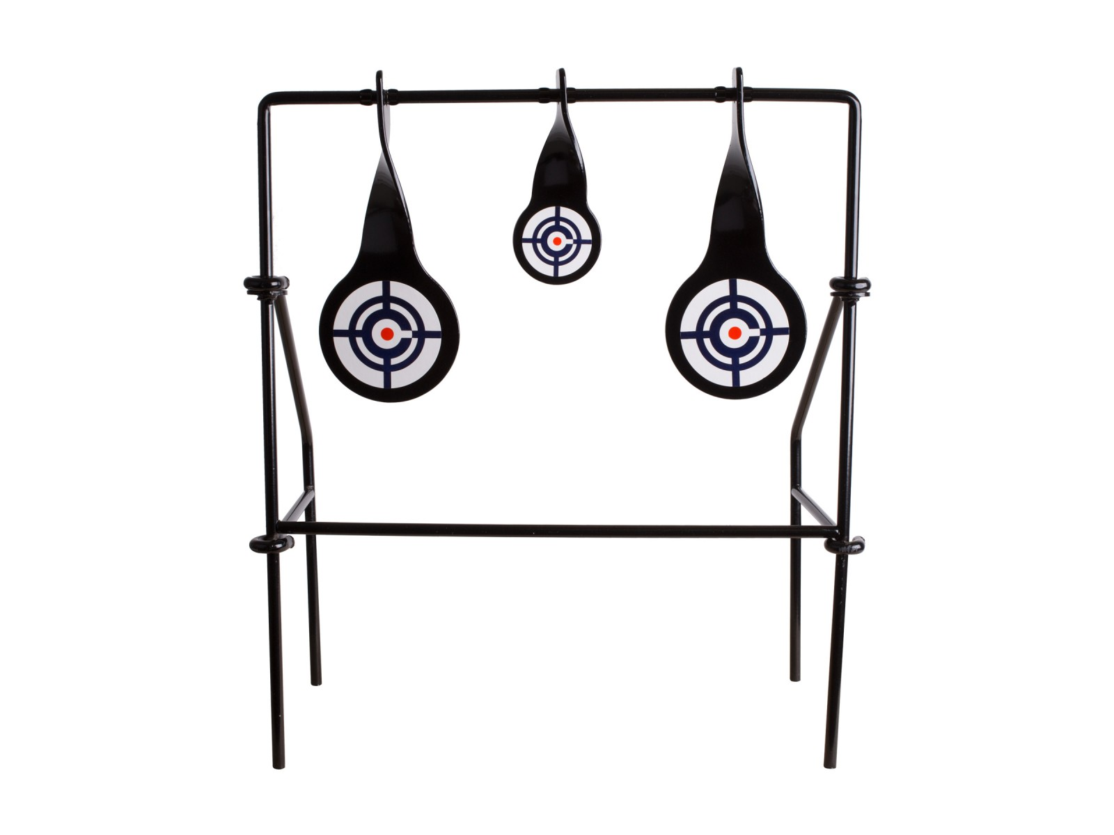 Crosman Spinning Logo Target, 3 Metal Spinners. Metal.