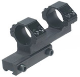 "Leapers Accushot 1-Pc Bi-directional Offset Mount w/1"" Rings, High, 11mm Dovetail"