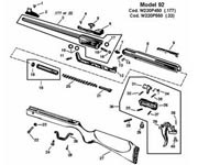 Air Venturi Cocking Rod, Attaches to Cocking Lever, Fits