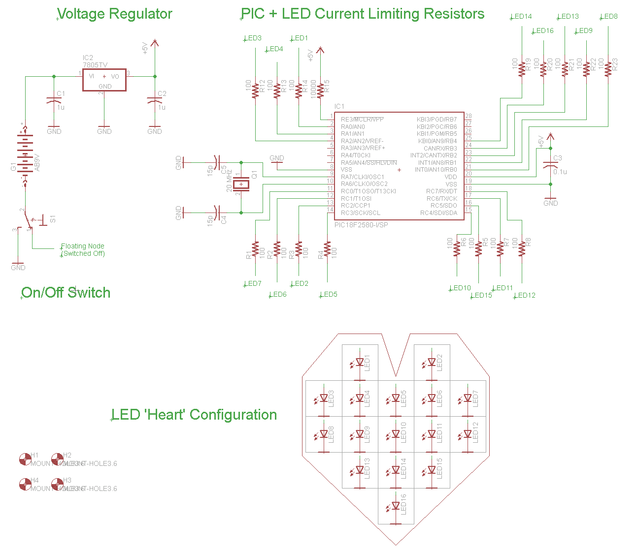 hight resolution of led heart pwm fading