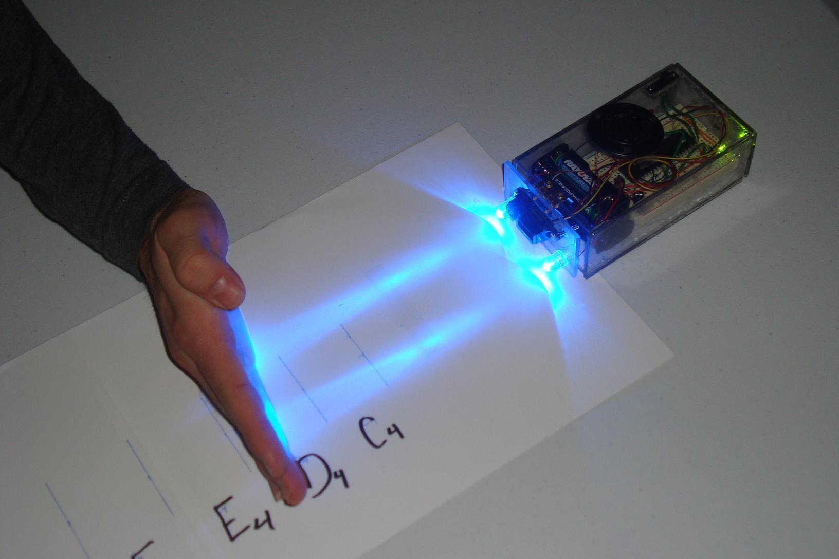 hight resolution of mini ir theremin