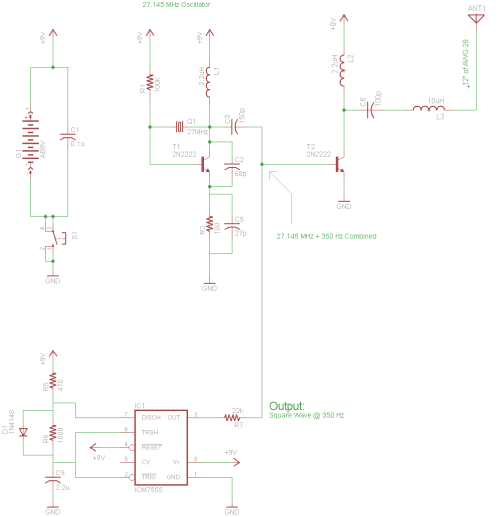 small resolution of crystal transmitter circuit diagram