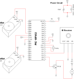 tupperware turret airsoft gun schematic pyroelectro news infrared ir receiver schematic pyroelectro news projects [ 1002 x 832 Pixel ]