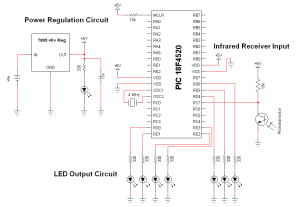 Wireless Infrared Link  Schematic | PyroElectro  News, Projects & Tutorials