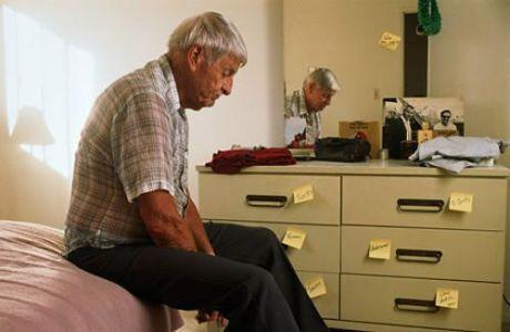 Alzheimer's patient.