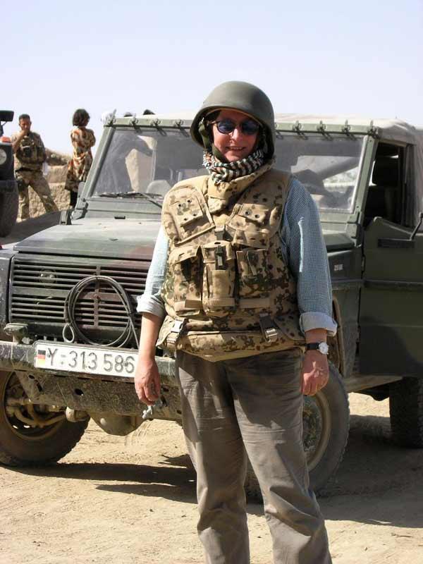 Afghanistan im Juni 2006: Bei 38 Grad mit Stahlhelm und Splitterschutzweste
