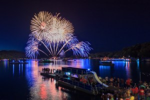 Fire On The Water, Sequoyah Marina, Fireworks, Pyro Shows