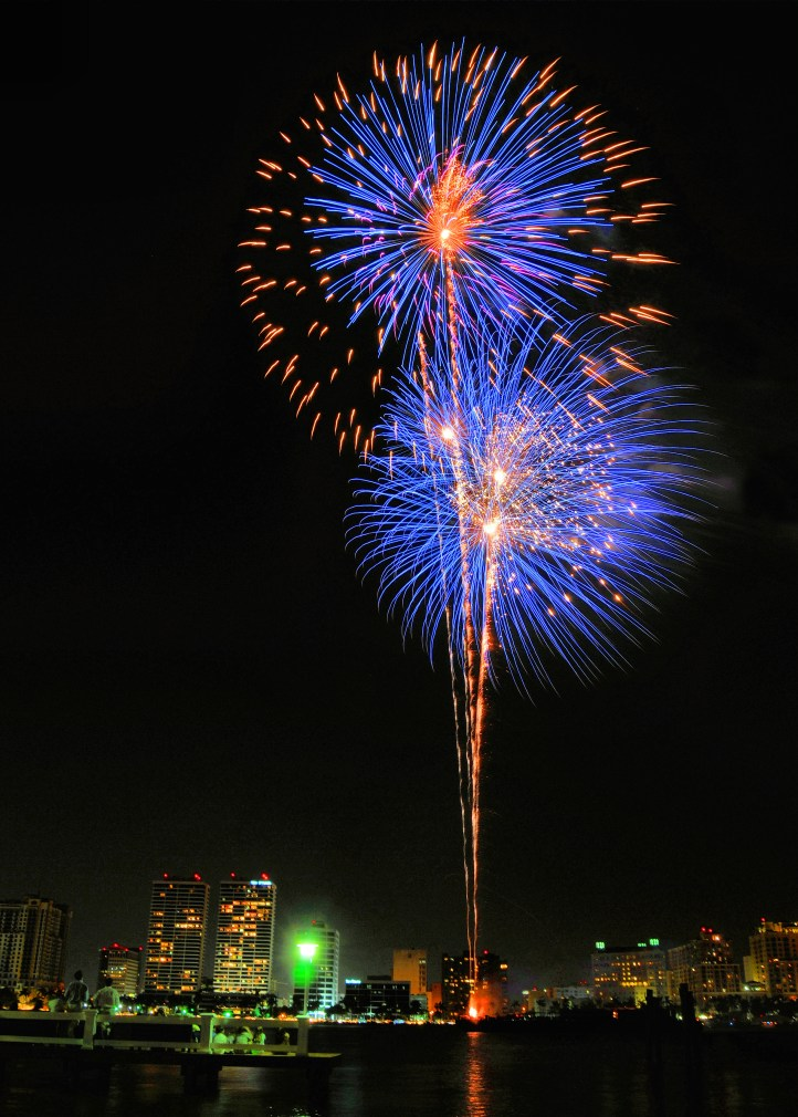 Outdoor Fireworks Display
