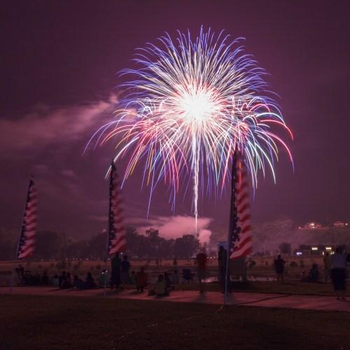 Pyro Shows - Clarksville, TN - Photo by Garrett Hill