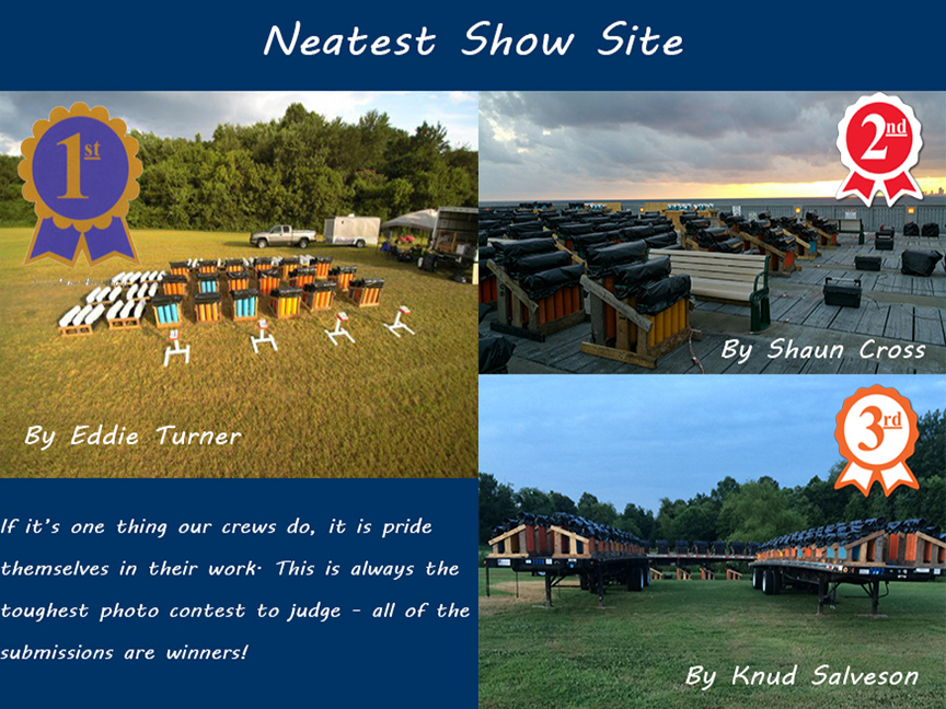 Crew Photo Contest Winners - Neatest Show Site- Web Sized