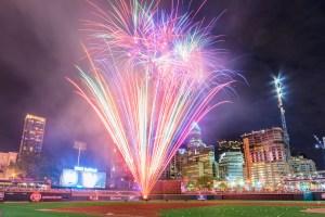 Pyro Shows, Charlotte Knights, Baseball Fireworks, Garrett Hill