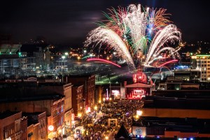 Nashville, Fireworks, New Year's Eve, Photo by Garrett Hill