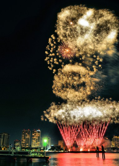 Outdoor Fireworks Display