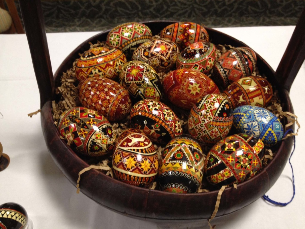 Displaying Your Pysanky For Demonstrations Displays Videos