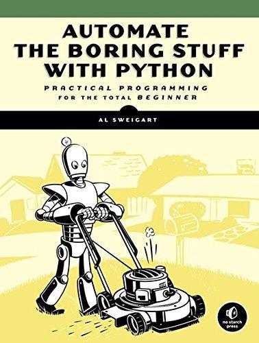 Python Book - Automate the Boring Stuff with Python