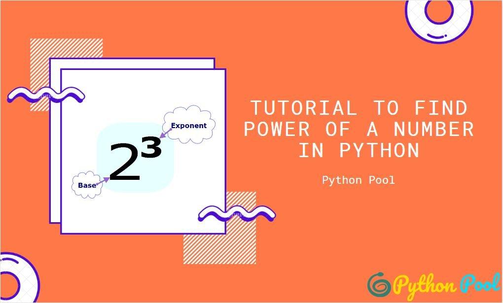 Python Power   pow()   Python Power Operator