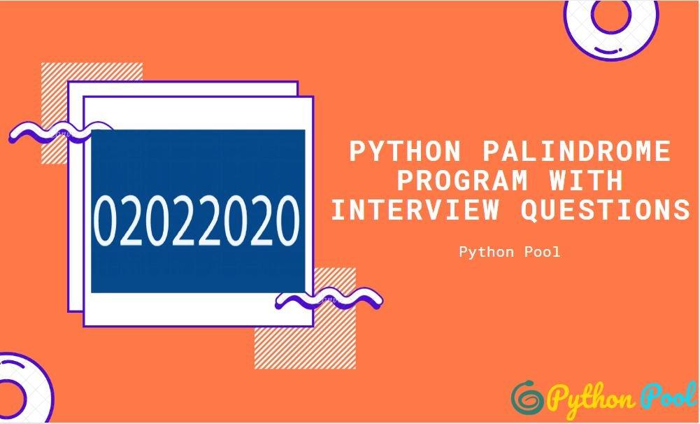 palindrome python