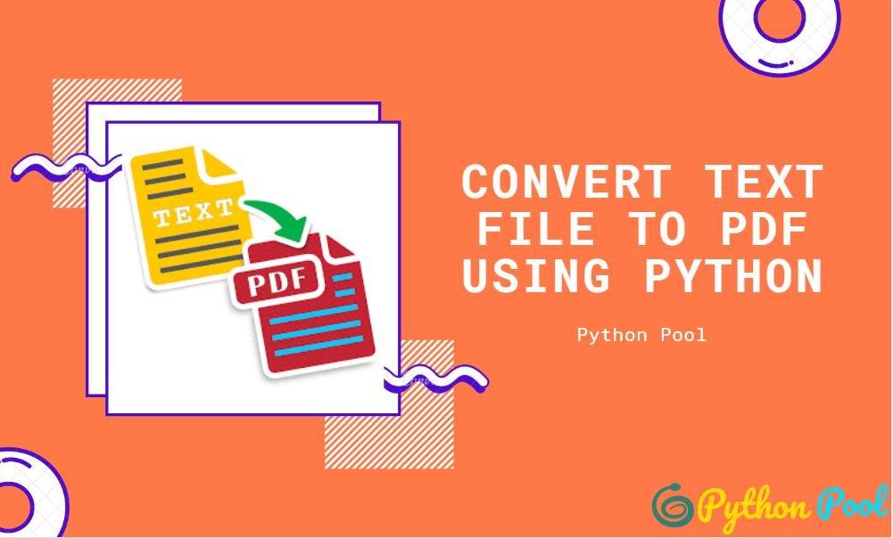 Convert Text File to PDF Using Python | FPDF
