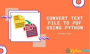 Convert Text File to PDF Using Python | FPDF